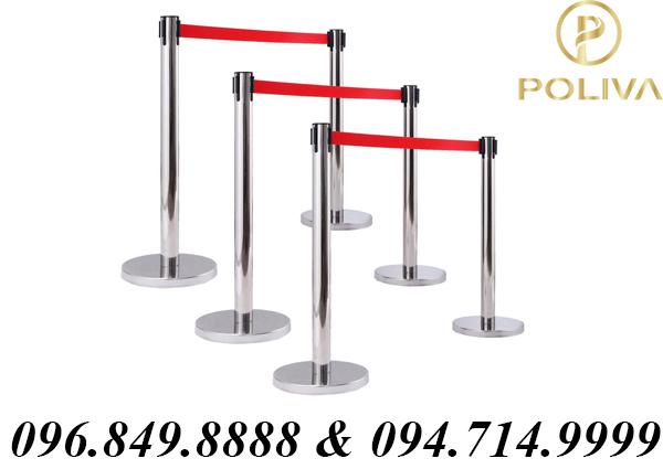 Địa chỉ cung cấp thanh chắn inox sự kiện Poliva giá sập sàn - Poliva.vn