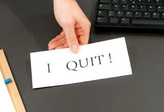 surat pengunduran diri kerja yang baik