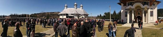 Duminica aceasta s-a săvârșit Sfântul Maslu de obște la Parohia Șaru Dornei