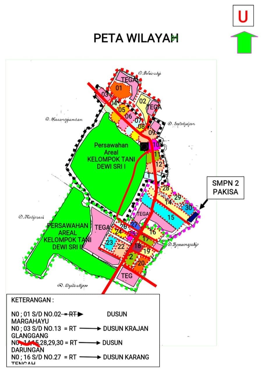 Keadaan Geografis - Desa Glanggang