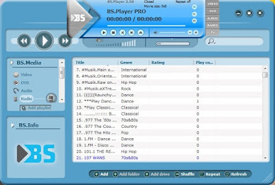 BS Player PRO 2.73 Build 1083 Full indir