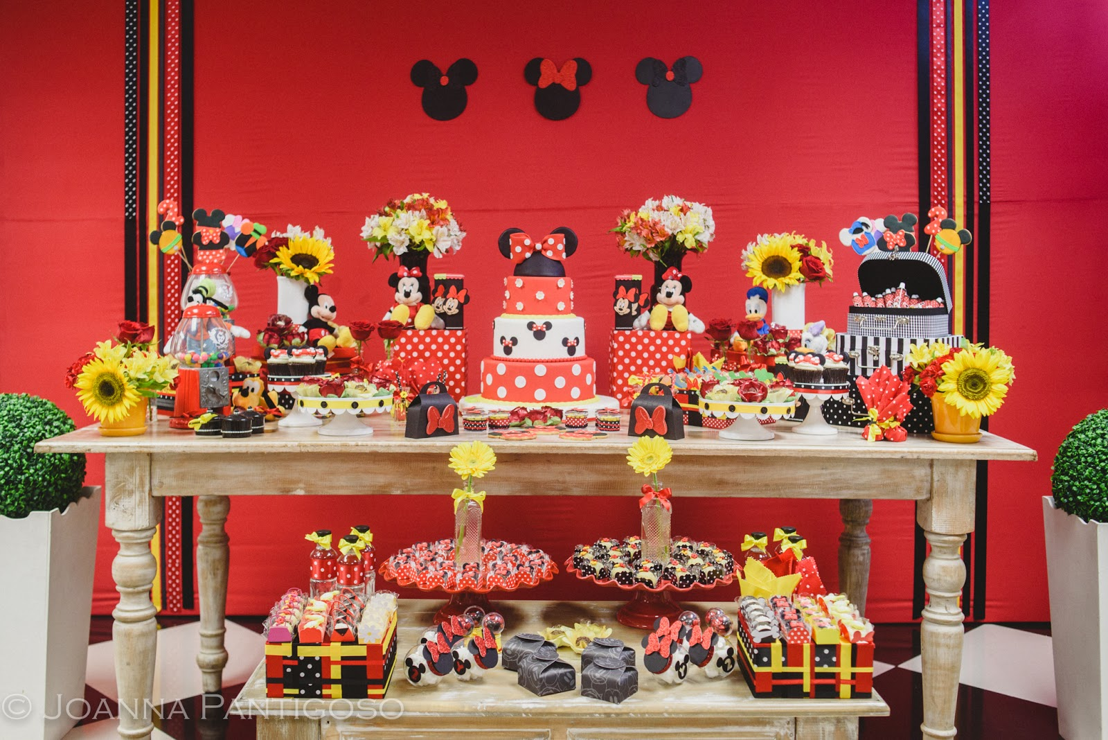 Inspiraci n decoraci n mickey minnie mouse small for Cosas de decoracion