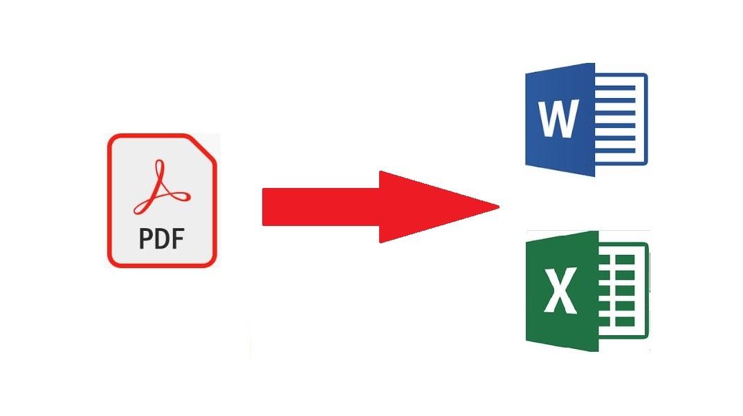 How to convert PDF to Microsoft word file online - Kunwar Lab