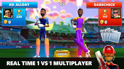 Stick Cricket Live 2020 (MOD, Unlimited Coin/Diamond) APK For Android