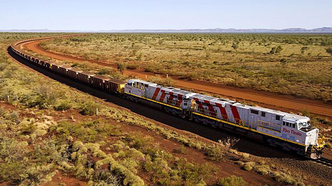 मॉरिटानिया रेलवे लौह अयस्क ट्रेनें, मॉरिटानिया