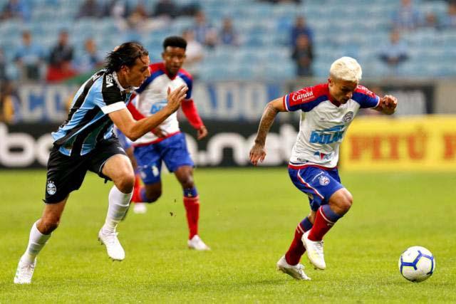 Bahia arranca empate com Grêmio e tenta carimbar vaga em Salvador