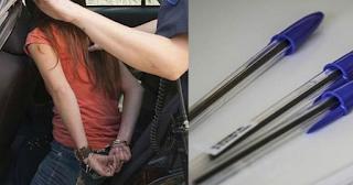 Μεγάλη επιτυχία της ΕΛ.ΑΣ: Συνελήφθη «επικίνδυνη» 13χρονη γιατί πουλούσε στυλό σε καφετέριες