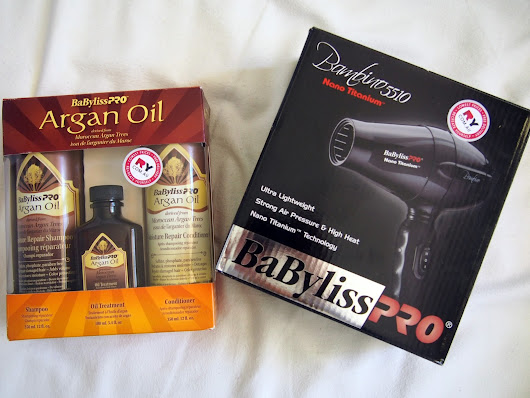 Review: Babyliss Pro Argan Oil Set & Bambino 5510 Hair Dryer
