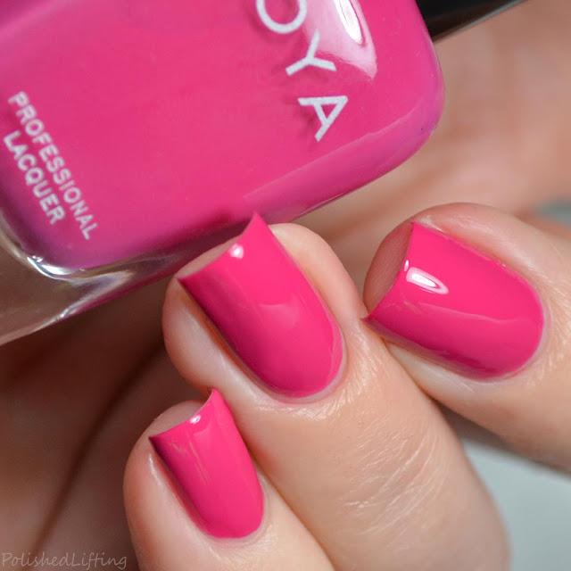 raspberry pink creme nail polish
