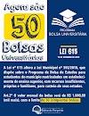 Salinas da Margarida aumenta de 30 para 50 bolsas universitárias, com dispêndio mensal de R$50.000,00