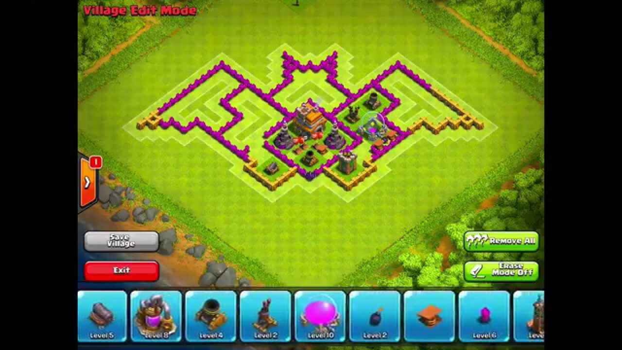 Base Coc Th 6 Kelelawar 5