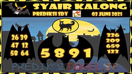 Prediksi Kalong Sydney Kamis 03-Juni-2021