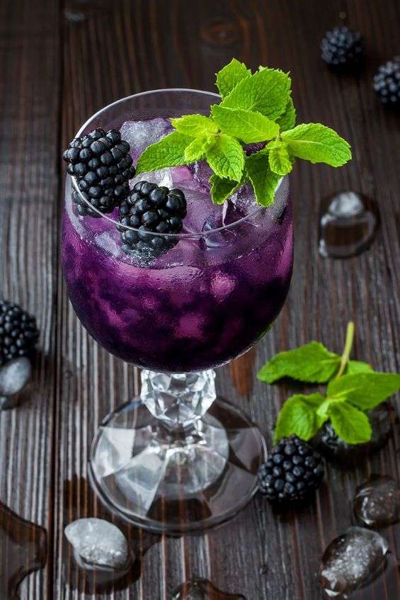 Blackberry Mojito #blackberry #sangria #cocktail #healthydrink #recipes