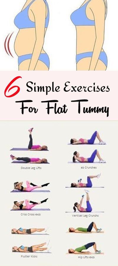 The Easy and Effective Flatter Tummy Workout For You