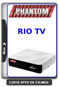 Phantom Rio TV Nova Atualização Satélite SKS Keys 61w ON V1.026 - 28-03-2020