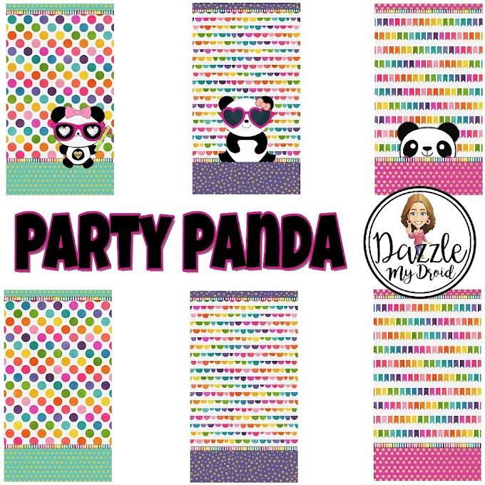 Freebie Wall set PARTY PANDA