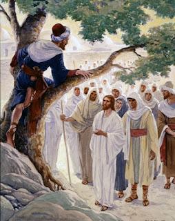 Słowo Boże na dziś - Nawrócenie Zacheusza