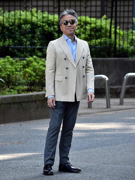 40代メンズのクールビズ スタイル