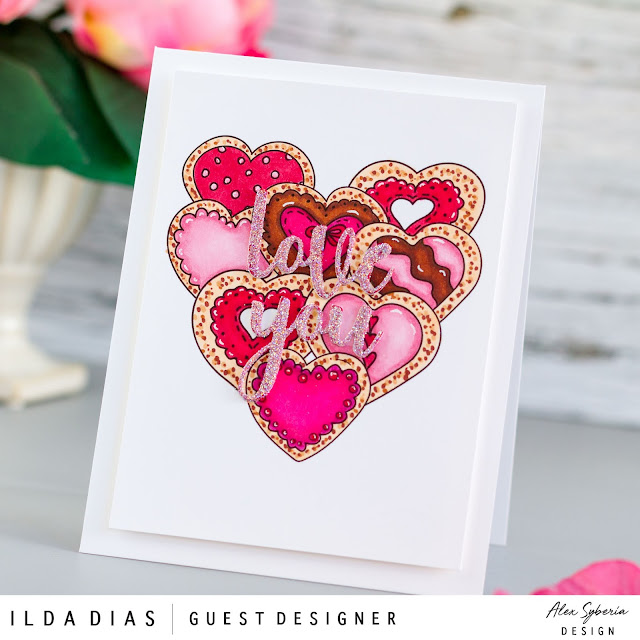 how to,handmade card,Stamps,February 2021,digi stamps,ilovedoingallthingscrafty,digital stamps,stamping,Copic Markers,Inspiration Cards,Rainbow,Die cutting,Alex Syberia Designs,card making,