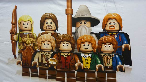 LEGO. The Lord of the Rings