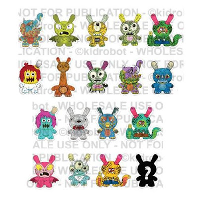 Kaiju Dunny Battle Series by Kidrobot x Clutter featuring Jeff Lamm, Rampage Toys & More!