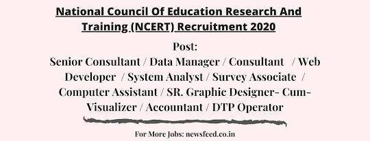 NCERT-Recruitment-2020