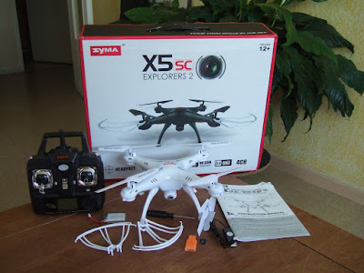 Spesifikasi Drone Syma X5SC - OmahDrones