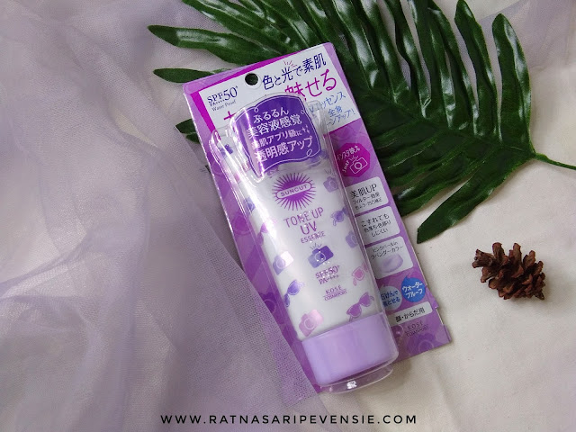 Review Kose Cosmeport Suncut Tone Up UV Essence