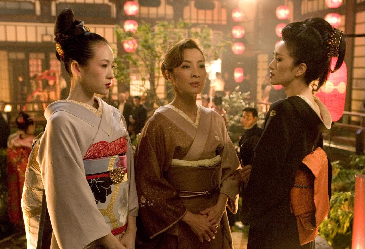 Rezultate imazhesh për memoirs of a geisha costumes