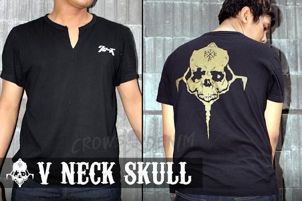 jas exclusive v+neck++crows+zero+ +genji+skull