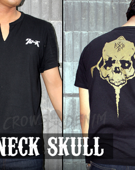 jas exclusive v+neck++crows+zero+ +genji+skull
