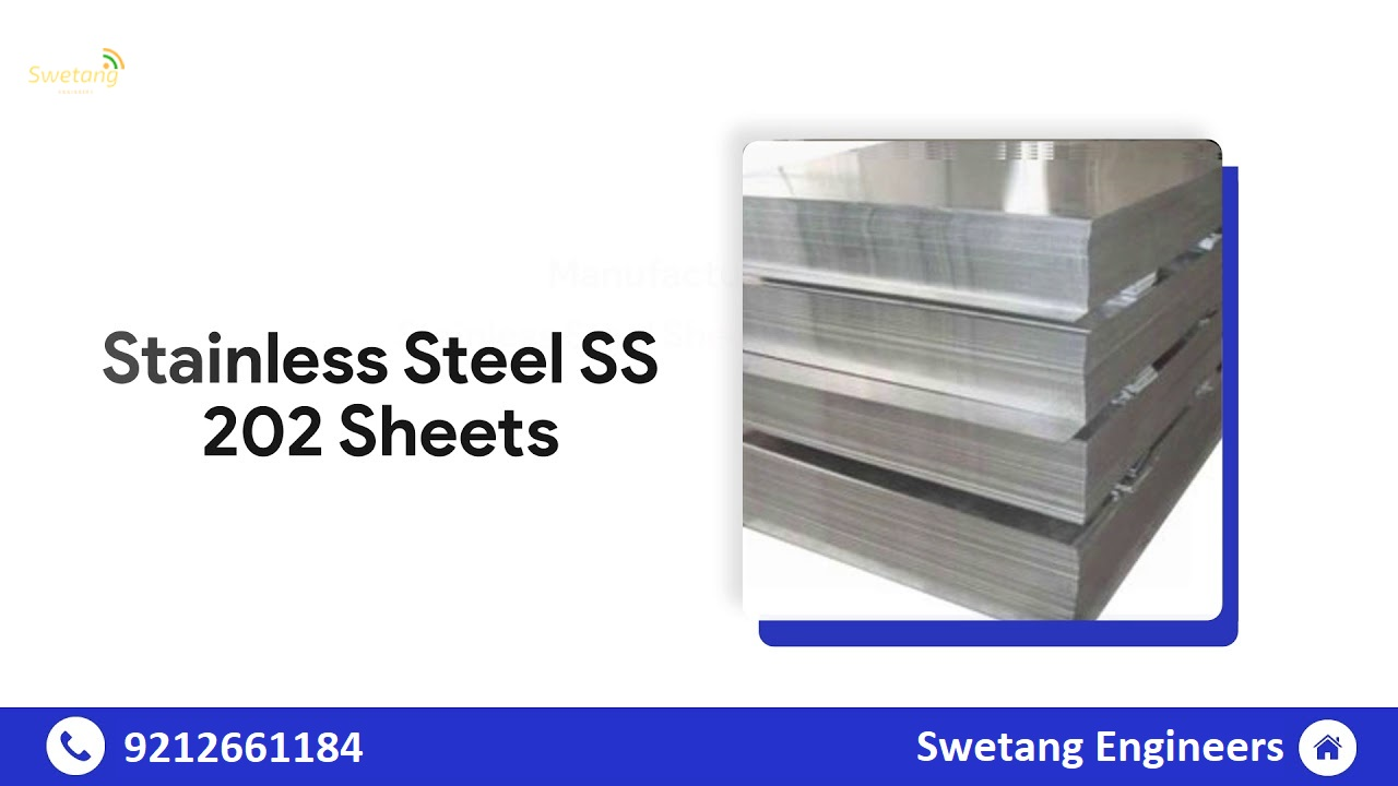 SS 202 Sheet Manufacturers & Suppliers India