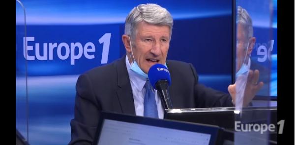 Pour Philippe de Villiers, Emmanuel Macron ne comprend pas l'urgence de la situation