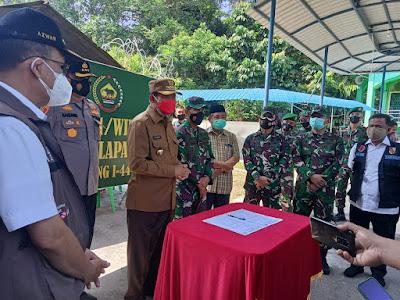 Korem 032 Wira Bima dirikan posko dapur umum untuk layani kebutuhan pangan masyarakat terdampak COVID-19