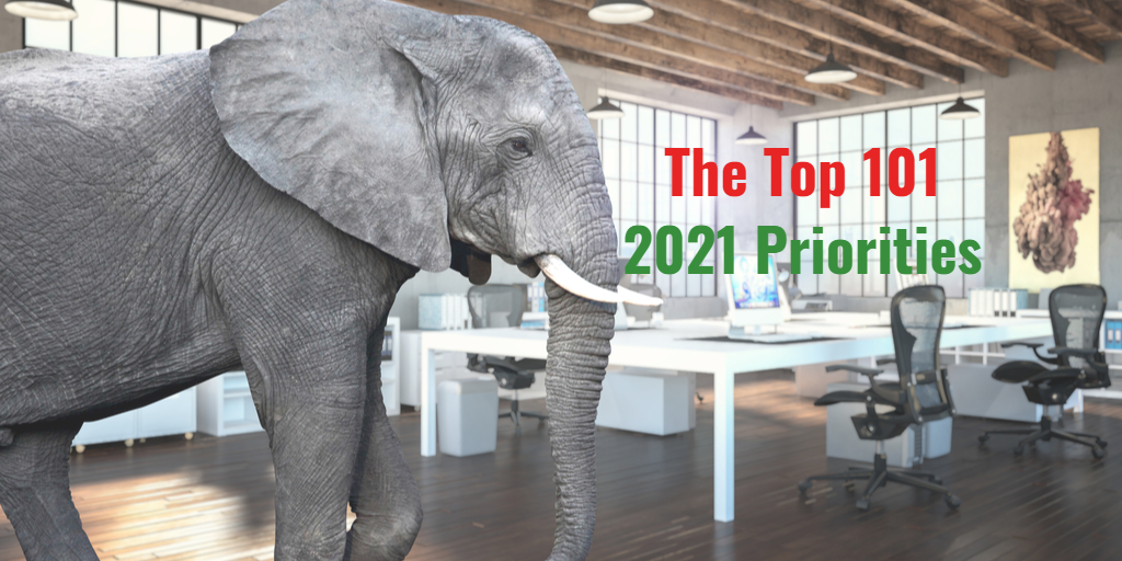 The 101 Top Digital Transformation Priorities of 2021 by Isaac Sacolick