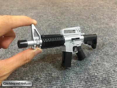 súng mô hình M4A1 mini bắn đạn bi 1