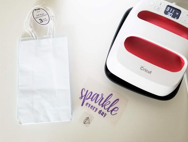 cricut gift bags