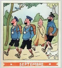 Calendari Tintín (Hergé, 1944)