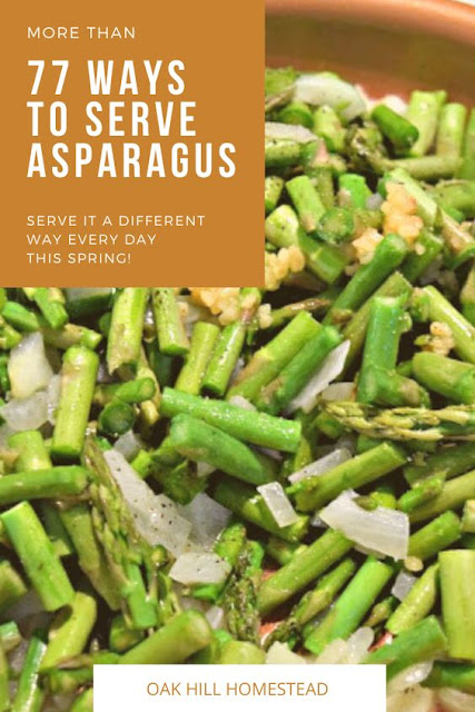 77 different ways to serve asparagus this spring!