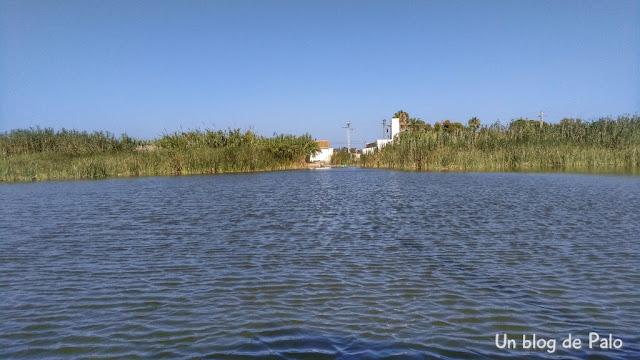 Vistas de la laguna de la Albufera