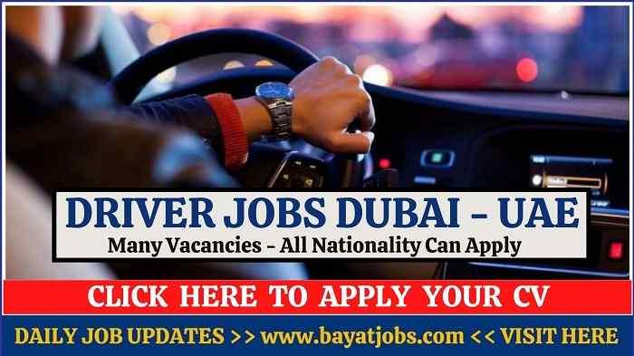 Driver Jobs In Dubai & UAE Salaries 2020