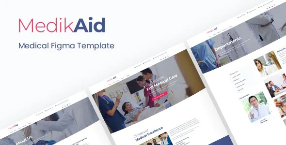Best Medical Healthcare Figma Template