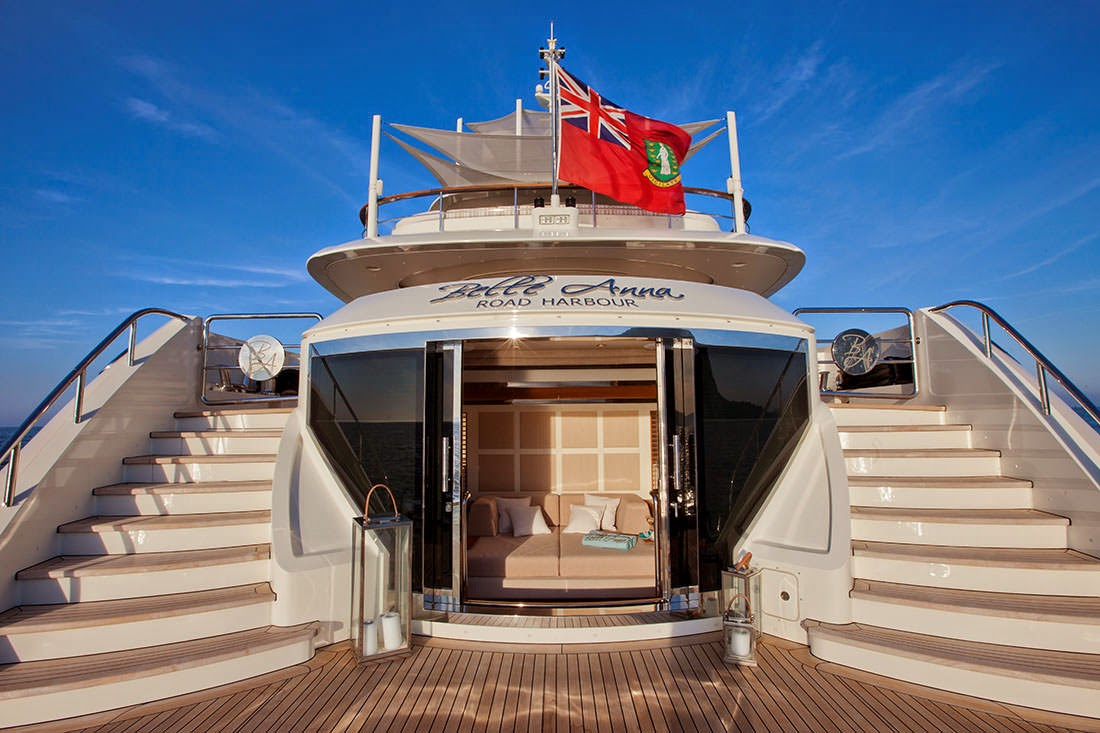 Bella Anna Superyacht by ISA Yachts - Celebrity Like and Shared
