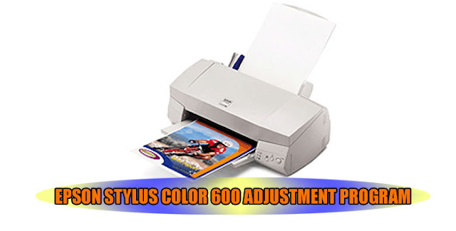 Epson Stylus Color 580 Printer Adjustment Program