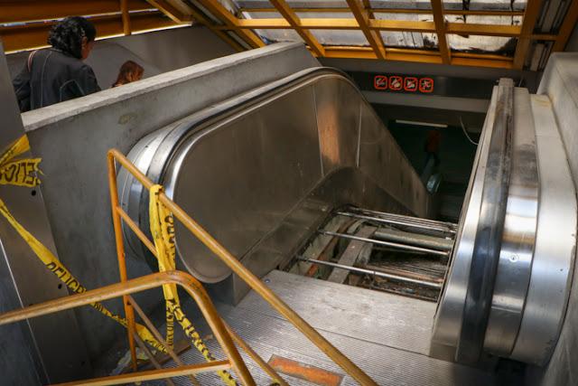 Un viaje por el infierno en el Metro de Caracas