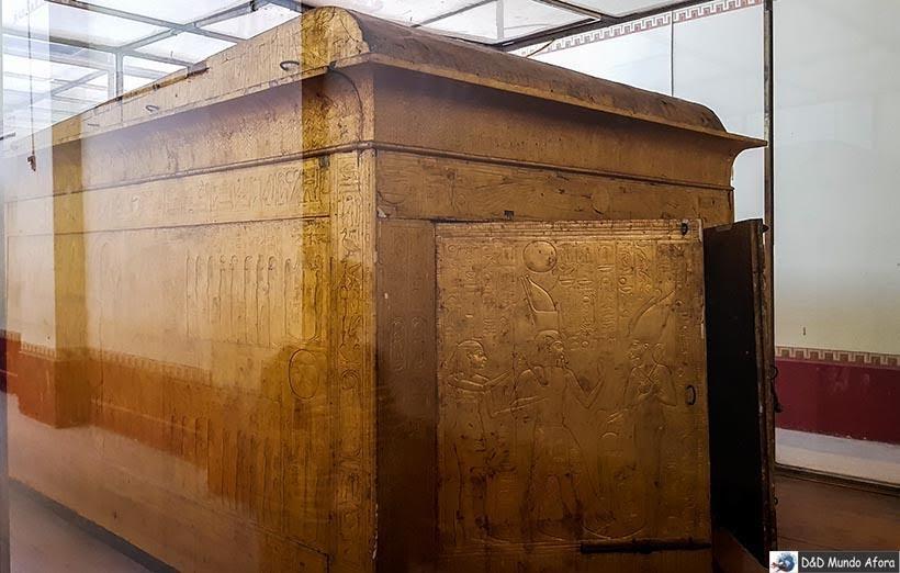 Uma das quatro Câmaras de Tutankhamon no Museu do Cairo