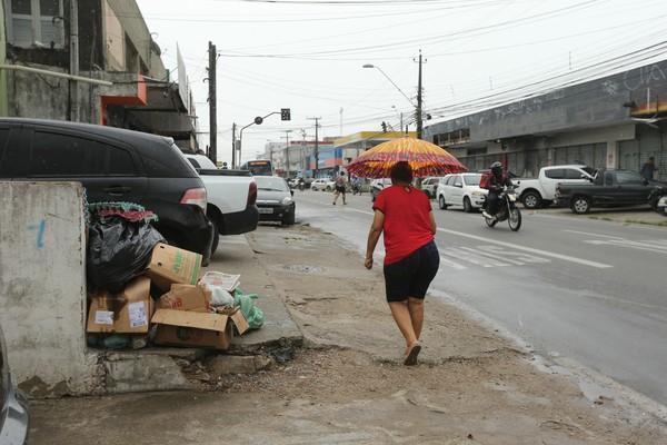 Fiscalização de calçadas cresce 155% em Fortaleza com a operação Calçada Acessível