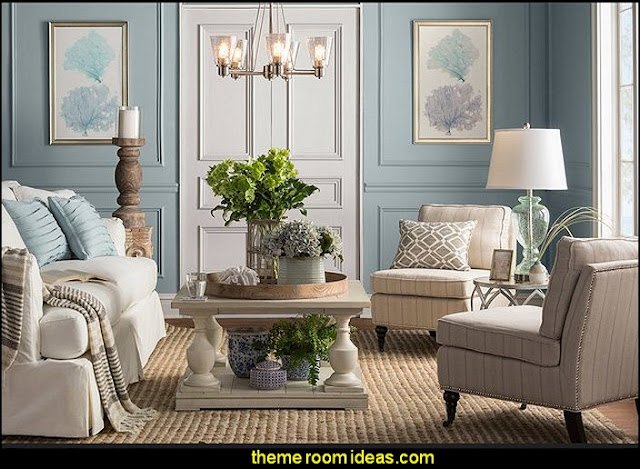 Decorating theme bedrooms maries manor seaside cottage for Beach cottage style living room furniture