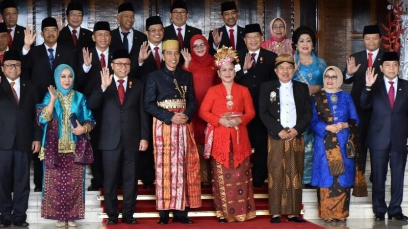 Jokowi dan JK di Sidang Tahunan MPR
