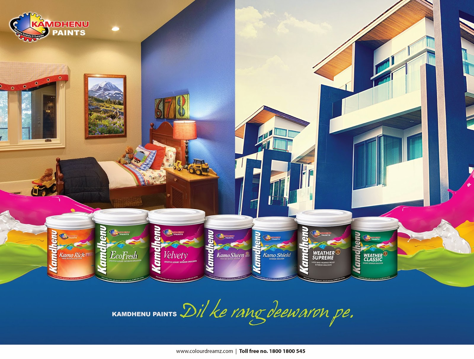Best Paint Brand For Interior Walls In India